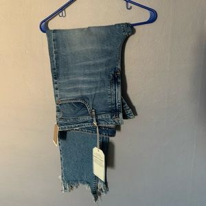 Women's Lucky Brand Beautiful Ripped cropped Jeans